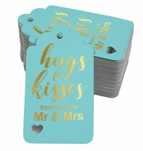Inkdotpot Pack Of 100 Hugs And Kisses From The New Wedding Favor-XkY