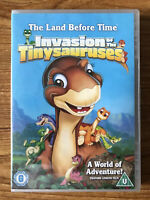 The Land Before Time 11 - Invasion of the Tiny Sauruses (DVD) Brand New Sealed
