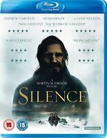 Silence [Blu-ray] [2017] [DVD][Region 2]