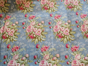 FAT QUARTERS TILDA WOODLAND COLLECTION 3 BLUE SHADES, 100% QUILTING COTTON