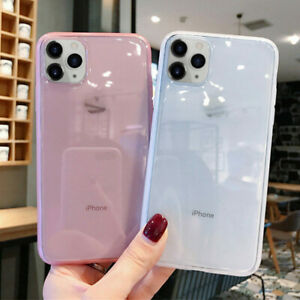 Crystal Clear Case For iPhone 13 12 XR 11 Pro Max X 6s 8 7 Plus Shockproof Cover