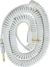 NEW VOX White VCC90WH Vintage Coiled Cable 29.5FT Free Shipping