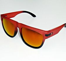 Spy Stag Sunglasses-Fade to Black Strawberry Fields Frame/Red Spectra Lens