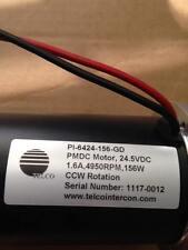 Telco PMDC Motor PI-6454-156-GD24.5VDC CCW Rotation