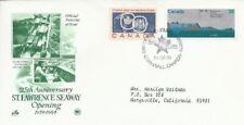 Canada #1015 Saint Lawrence Seaway - combo Fdc
