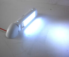 Rotating White 3 LED RV Trailer Interior Courtesy Light Cargo