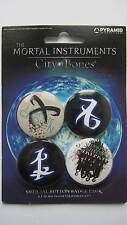 The Mortal Instruments City Of Bones Button Badges x 4 Freepost