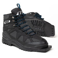 Whitewoods Model 301 75mm Cross Country Ski Boots - Black, Gray (NEW) Lists@$80