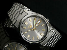Seiko 5 Automatic Mens Watch See Through Back SNXS75K UK Seller