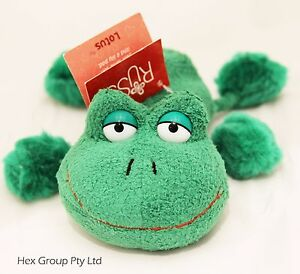Brand new Russ Berrie plush Lotus Frog 15cm Luv Pets animal Soft