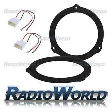 """Ford Focus MK2 CMAX Kuga Speaker Adaptor Kit Rings Spacers 165mm 6.5"""" Rear Door"""