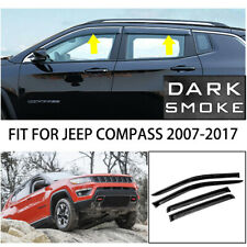 For 2007-2017 Jeep Compass Sun Rain Guard Vent Shade Window Visors