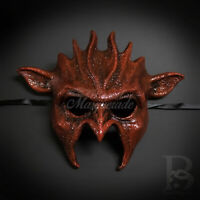 Masquerade Mask New Reddish-Brown Cougar Halloween Props Animal Costume Unisex