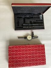 Vintage Starrett 711 Last Word Dial Indicator Withcase Amp Attachments Machinist Usa