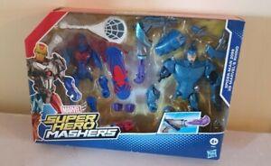 Marvel Super Hero Mashers Battle Pack Spiderman 2099 Vs Marvel's Rhino | Sealed