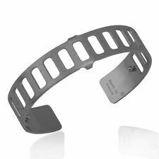 Les Georgettes Men mat gezwarte armband 14 mm Rythme