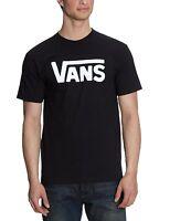 VANS New Men's Classic Print Logo T-Shirt Print Top Tee S M L XL XXL Black