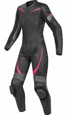 WOMEN MOTORCYCLE CUSTOM MADE LEATHER RIDING SUIT-1PIECE RACING SUIT-CE APPROVED
