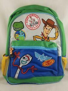 New Disney Store Pixar Genuine Toy Story 4 School Book Bag Or Travel Backpack