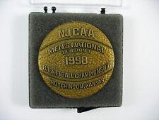 NJCAA 1998 Mens Nat'l Basketball Championship Medallion Hutchinson KS Coca Cola