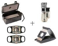 F.e.s.s F15 Gift Set - Fess 15ct Cigar Travel Case, Fess Premium Cigar Cutters B