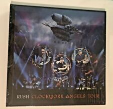 RUSH Clockwork Angels Tour DVD ~ Limited Edition Deluxe ~ #119/5000 Sealed!