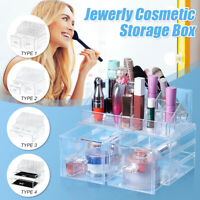 Jewelry Box Organizer  Cosmetic Case Makeup Brush Storage Drawer  Q