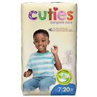 Cuties Complete Care Baby Diapers, Size 7, Pack of 20