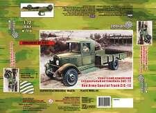 1/72 Wwii ZiS-12 Soviet truck Zebrano 72101 Models kits