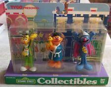 Sesame Street Collectibles Figures Set BERT ERNIE GROVER Tyco Preschool 1997 NEW