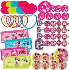(48ct) Disney Minnie Mouse Party Favor - Girls Birthday Mega Mix Value Pack