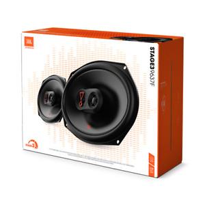 """JBL Stage 3 9637F 375 Watt 6x9"""" 3-Way Coaxial Speakers Stage3 6"""" x 9"""" 9637FAM"""