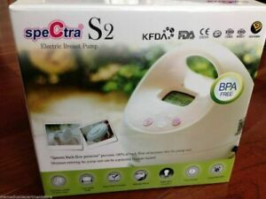 Spectra S2 Electric Breast Pump With LCD Display & Control Panel - Pink