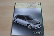 138508) Skoda Fabia GT Prospekt 09/2001