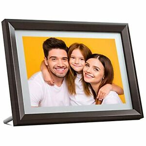 Dragon Touch Digital Picture Frame WiFi 10 inch IPS Touch Screen HD Display,