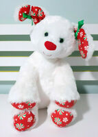 Build A Bear Christmas Dog Plush Toy Children's Soft BAB Toy 33cm Tall!
