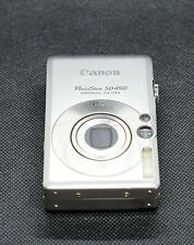 Canon PowerShot Digital ELPH SD450 IXUS 55 5.0MP Camera for parts or trade in