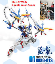 Super Nova model 1:100 MG XXXG-01S Blue White color Armor Altron Nataku Gundam