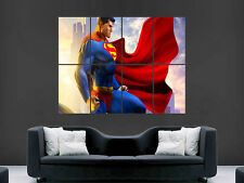 SUPERMAN PICTURE  GIANT WALL POSTER ART  PRINT LARGE HUGE