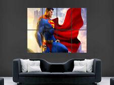 Superman imagen Gigante De Pared de arte cartel impresión Grandes Enormes