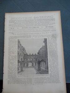 1904 Sdt. Bauzeitung13 Mainz
