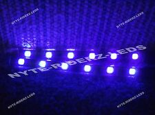 PURPLE 5050 SMD LED STRIPS PAIR OF 6 INCH STRIPS FITS ALL JEEP CADILLAC CHEY KIA