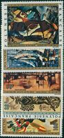 French Polynesia 1972 Sc#C89-C93,SG160-164 Painting set MNH