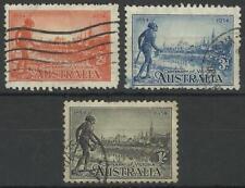 AUSTRALIA KGV 1934 VICTORIA CENTENARY SET USED
