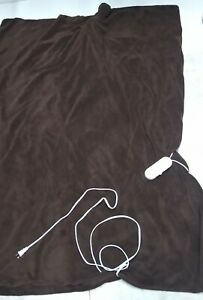 Biddeford Blankets MicroPlush Electric Heated Blanket - Auto Off - EXCELLENT EUC