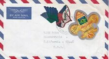 1974 Tonga #C132,#C147 on cover, Vava'u to US; Scout,bird,shapes topical *d