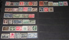 Poland pre-1957 hi val selection 42 diff stamps cv $79.80
