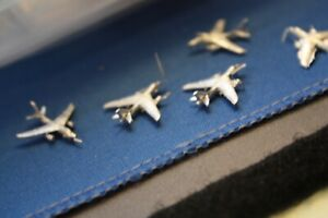A3 Skywarrior with fixed wings US Navy .Metal model bag of five 1200/1250 scale