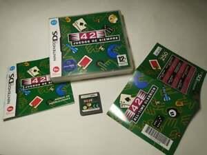 42 juegos de Siempre ( Nintendo DS - Pal - Esp) (2)