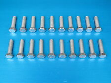 "20 Pack. 3/8 x 1 1/2"" BSF Bolts (Setscrews) High Tensile Steel, BZP"